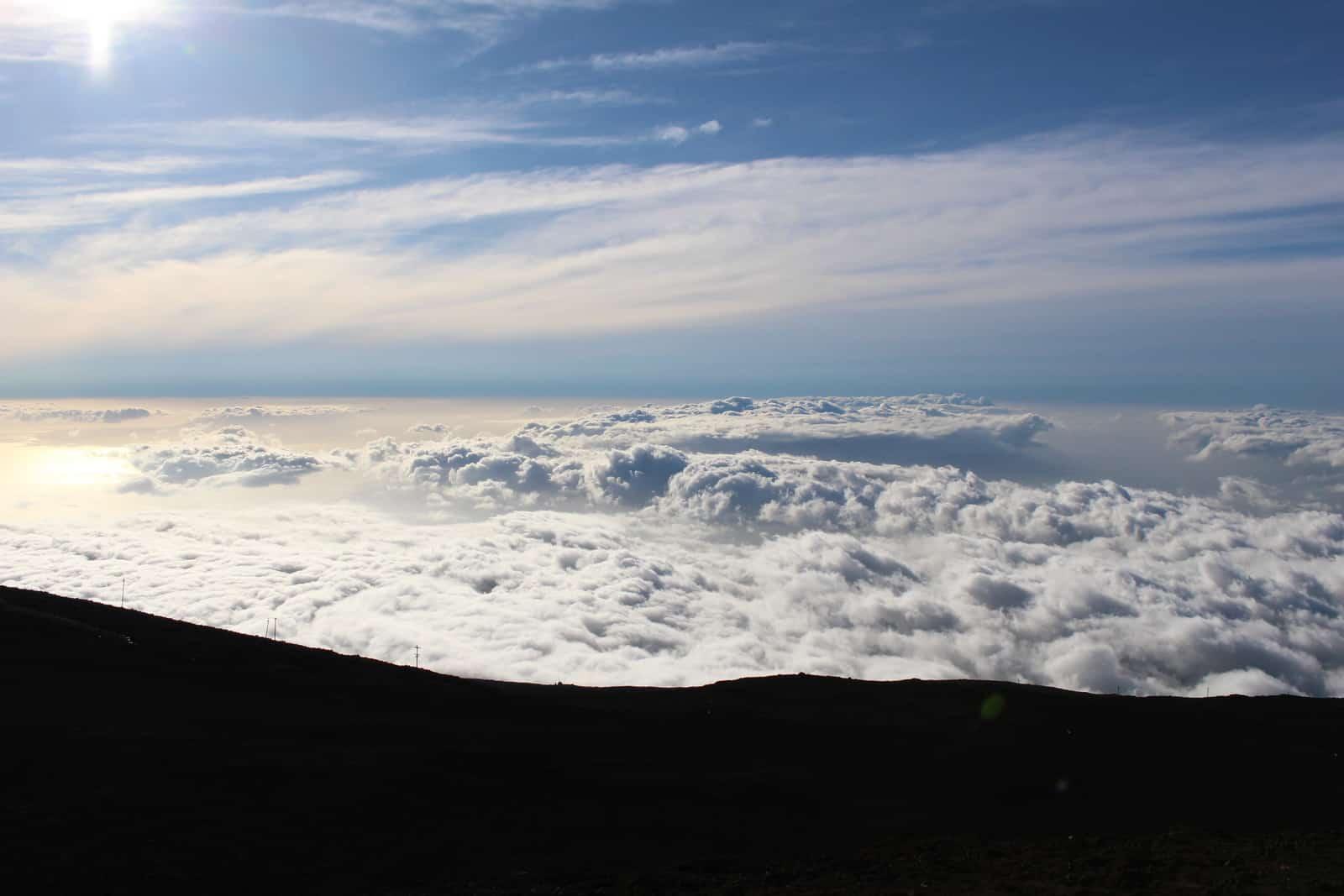 Haleakala National Park Clouds