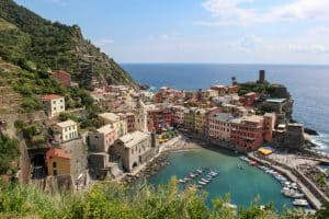 Vernazza Above