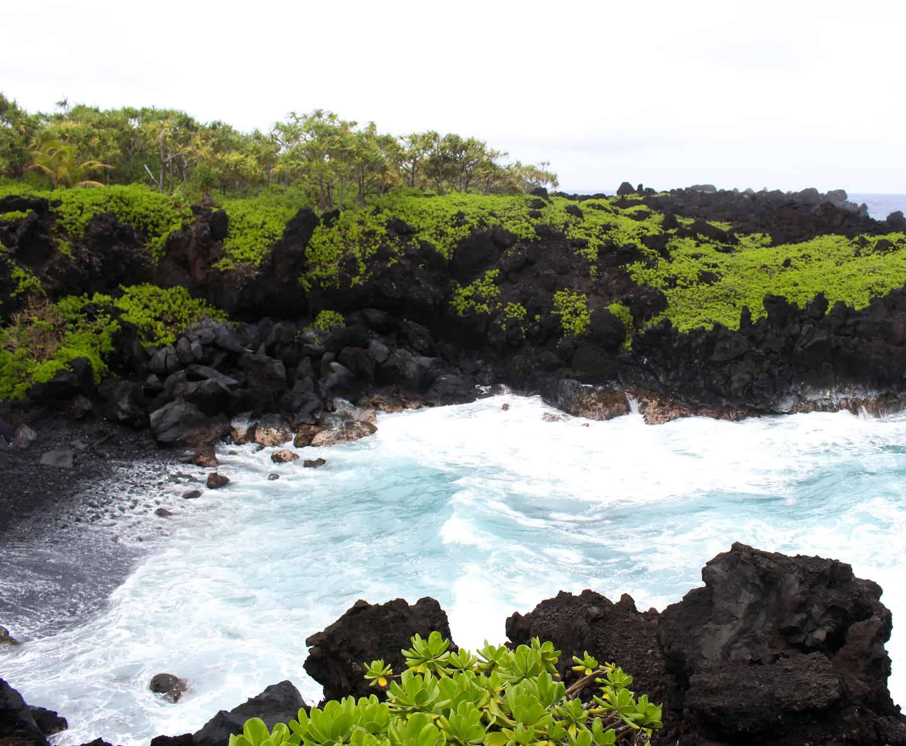 Waianapanapa State Park View