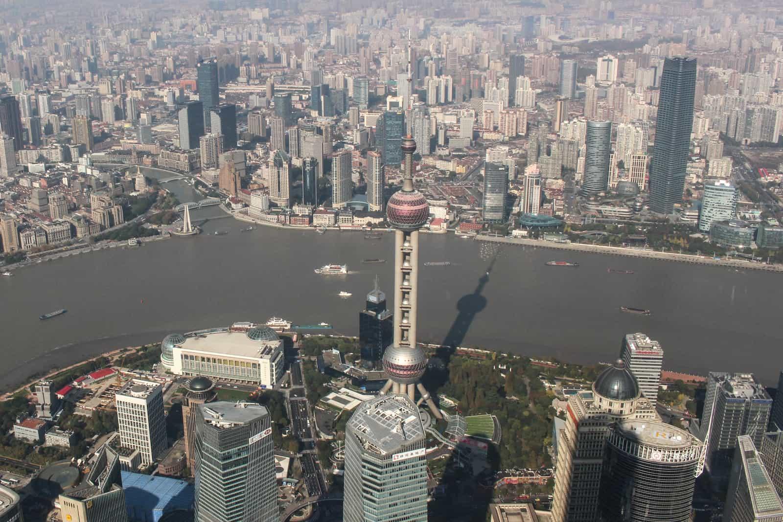 Shanghai Pearl Tower View