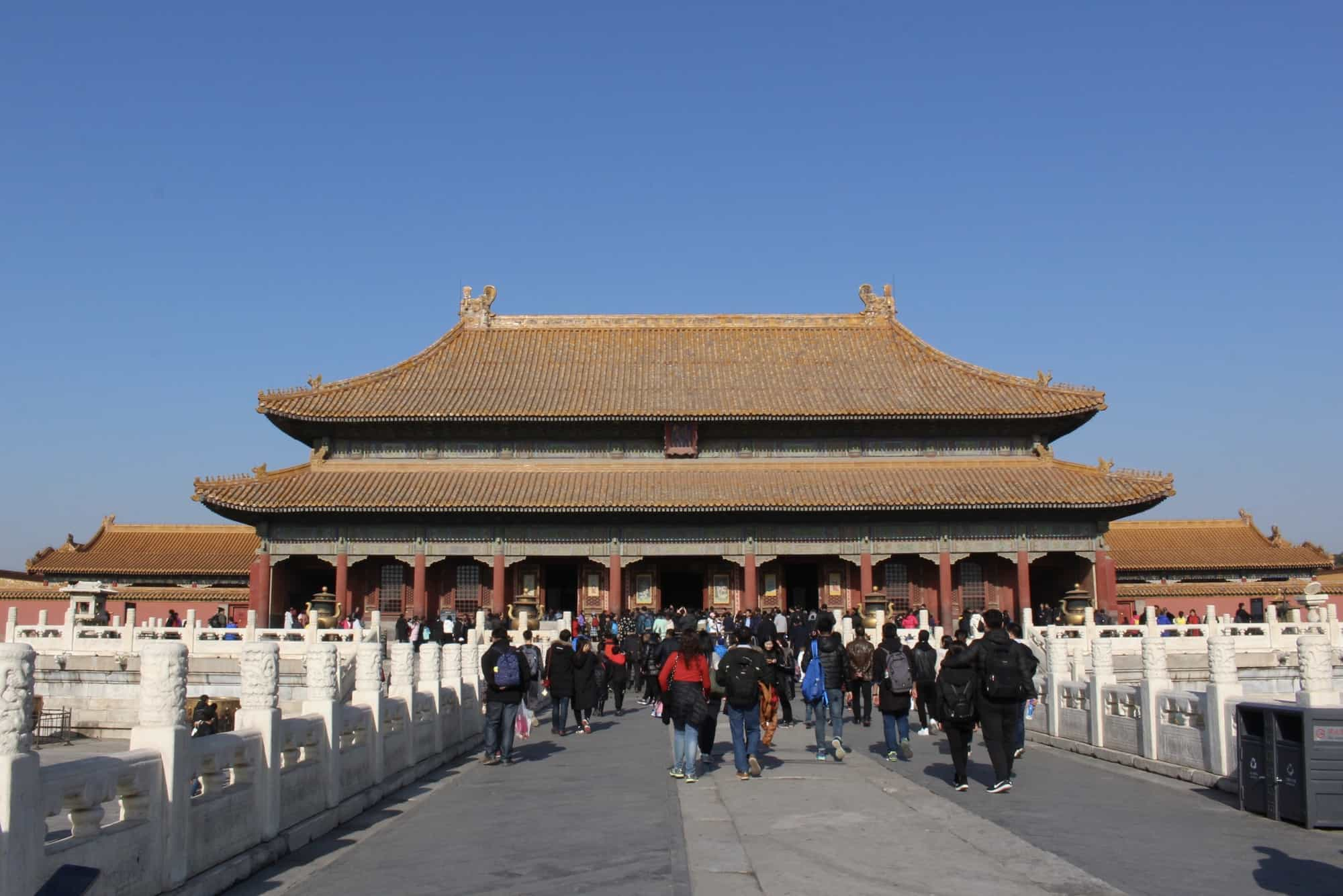Beijing China Forbidden City