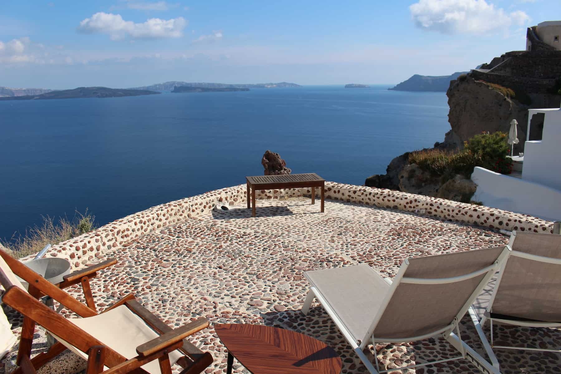 Santorini Balcony