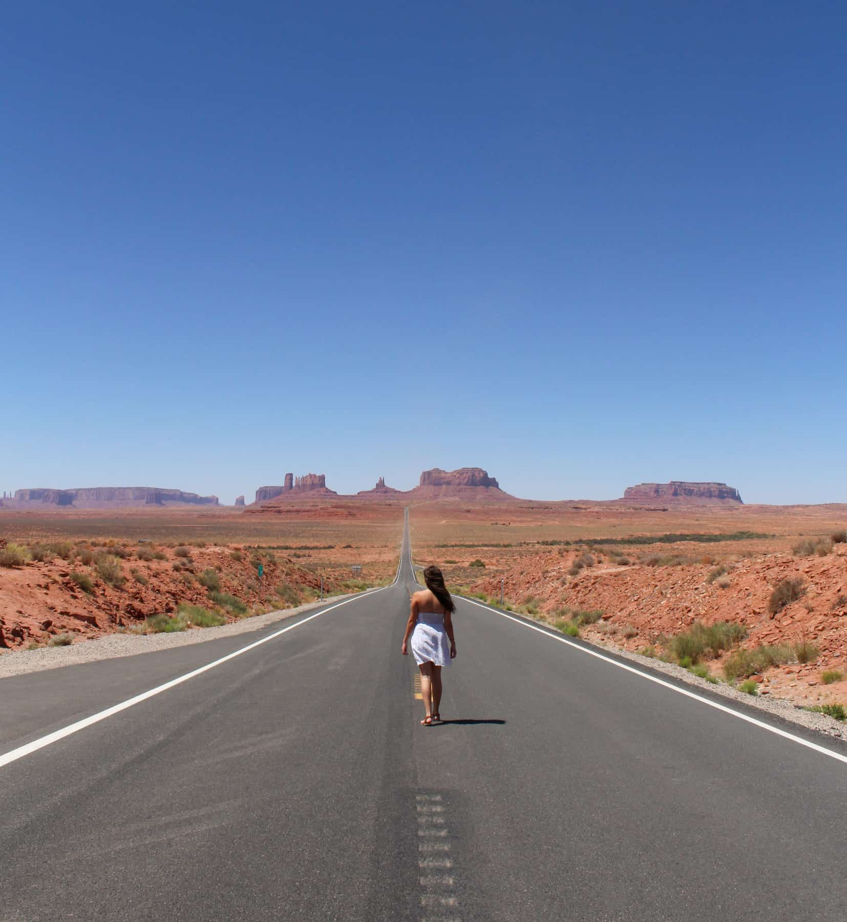 Monument Valley Forest Gump Point
