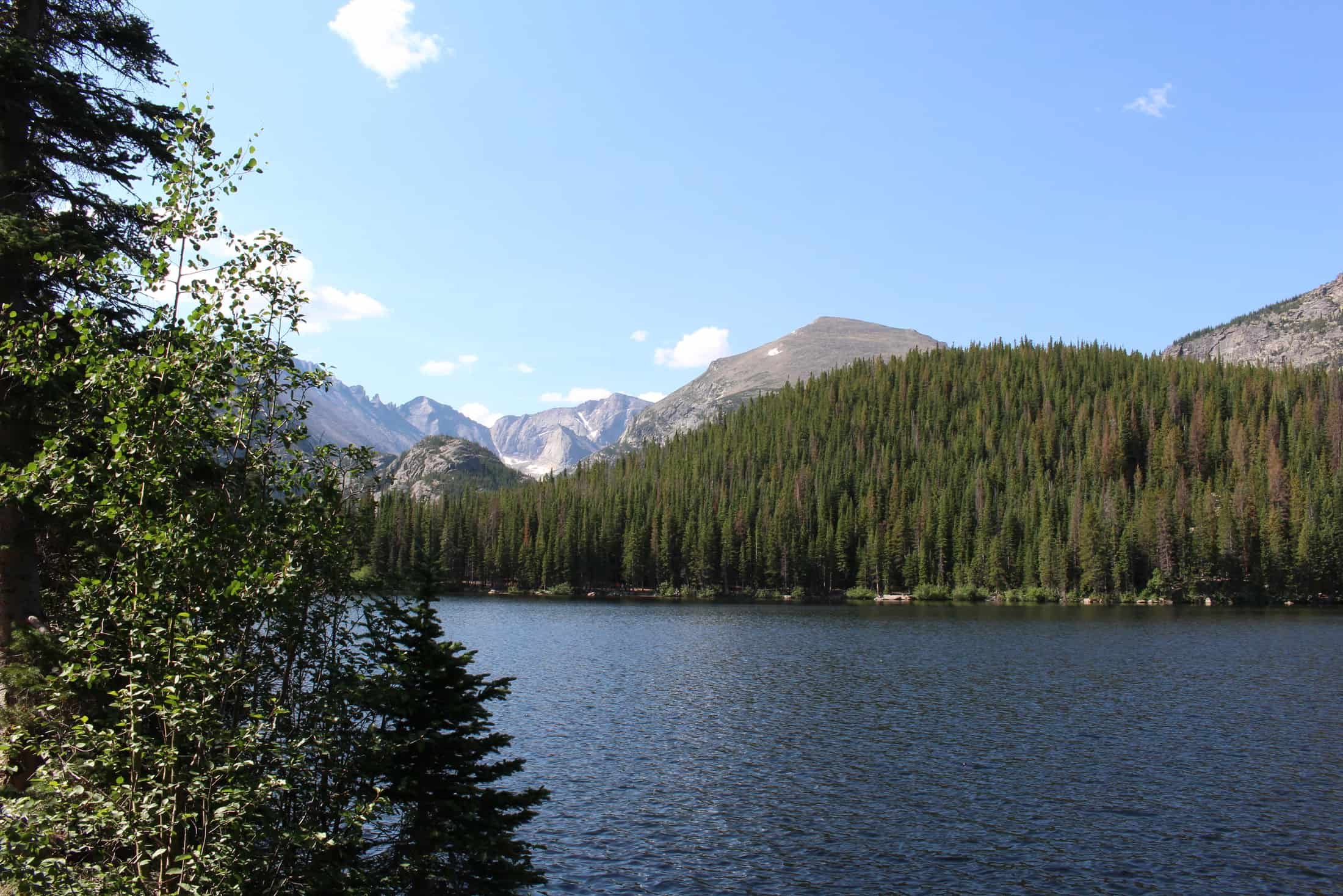 Bear Lake Rocky Mountain