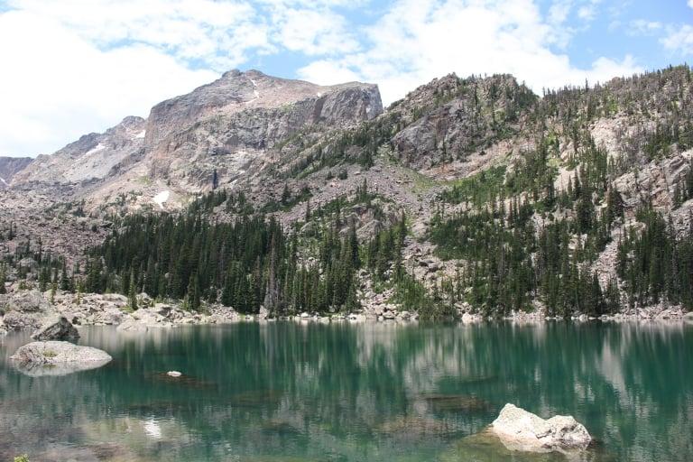 Lake Haiyaha Rocky Mountain