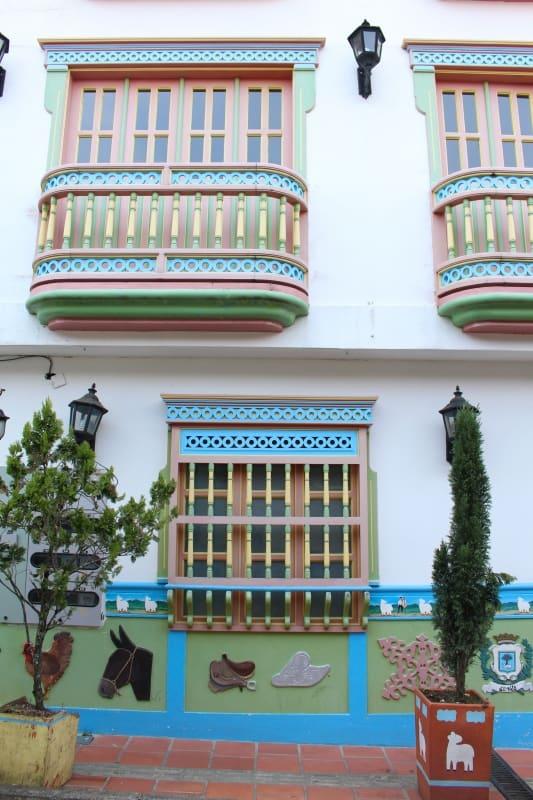 Guatape Colorful House