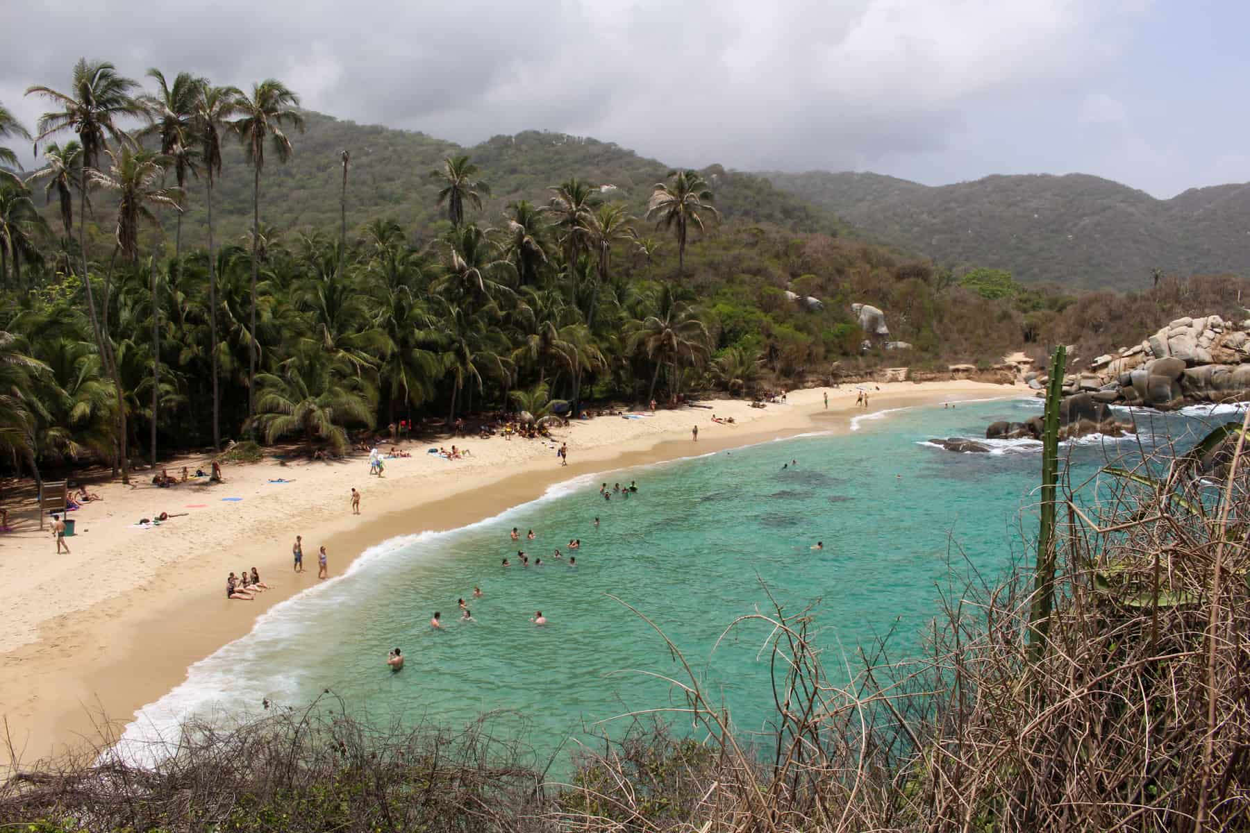 Caba San Juan Beach Tayrona National Park