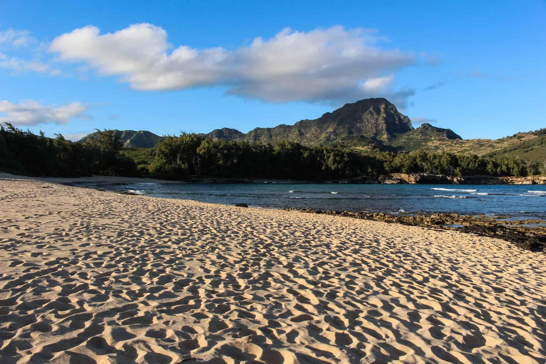 Mahaulepu Beach Sand