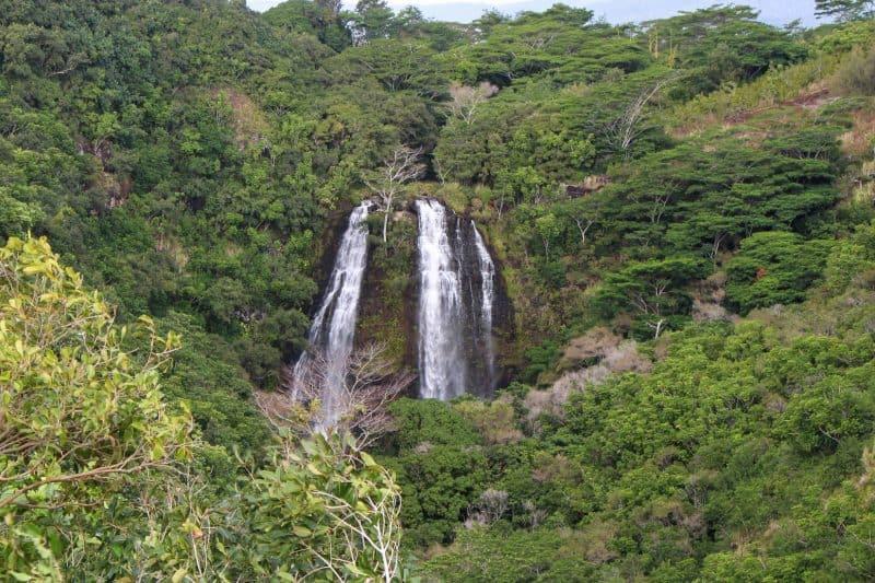 Opaeka Falls