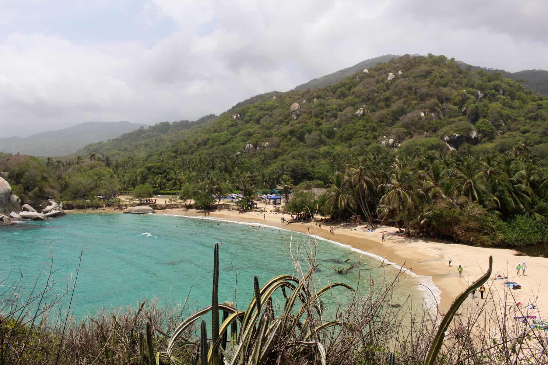 Playa Cabo San Juan Tayrona
