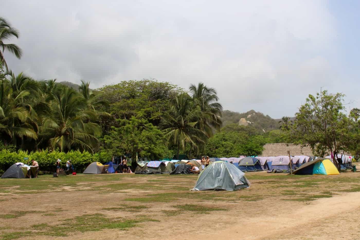 Tents Playa Cabo San Juan