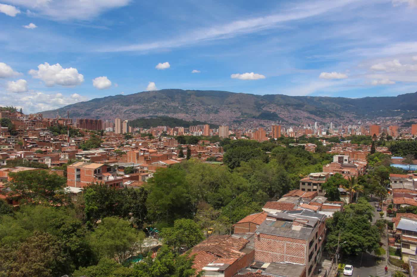 Medellin View from Cable