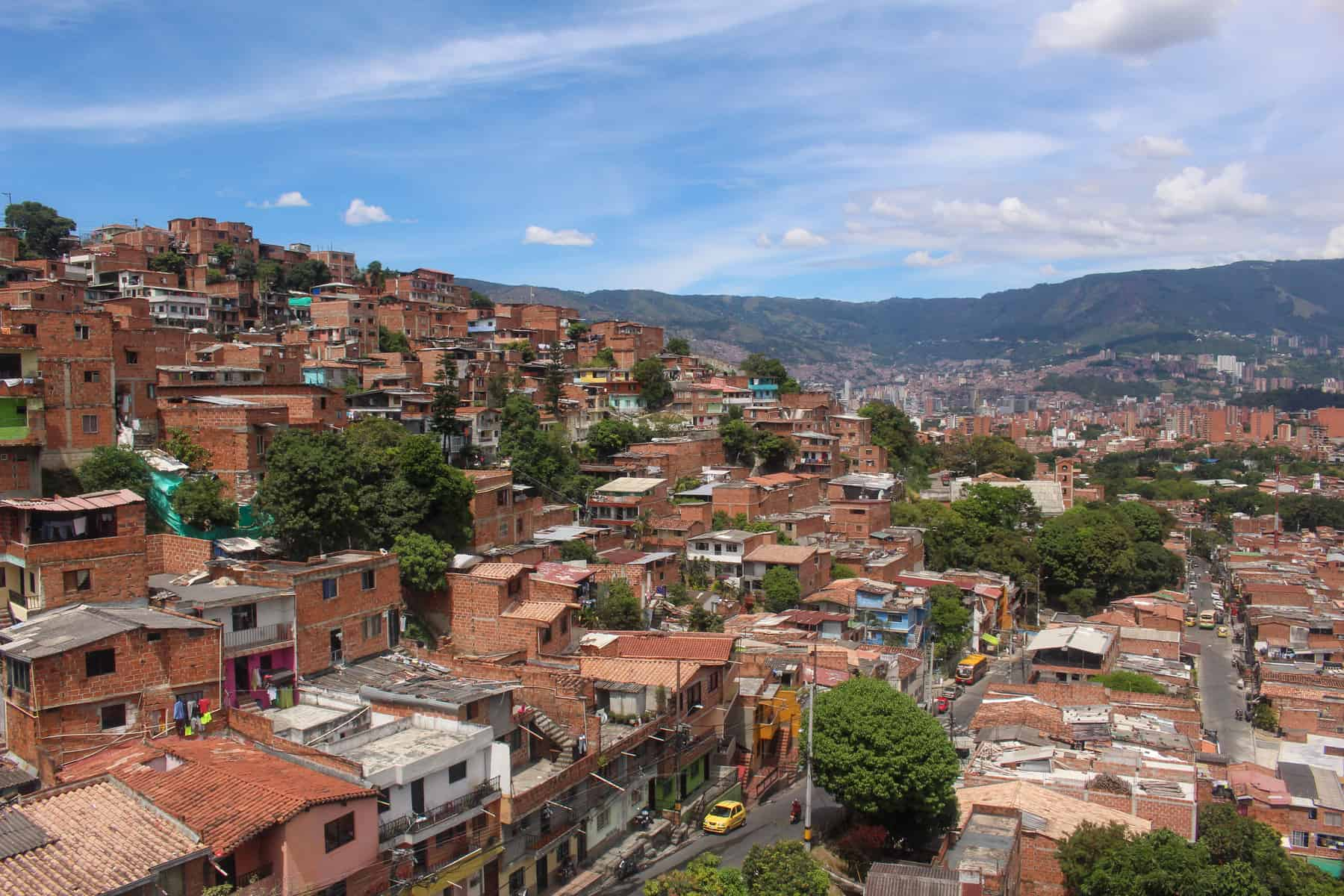 Medellin from Metro Cable