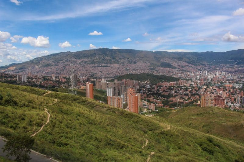 Views of Medellin