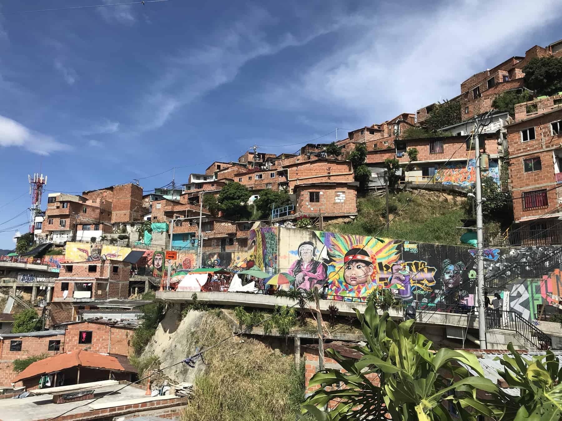 Comuna 13 Grafiti and Street