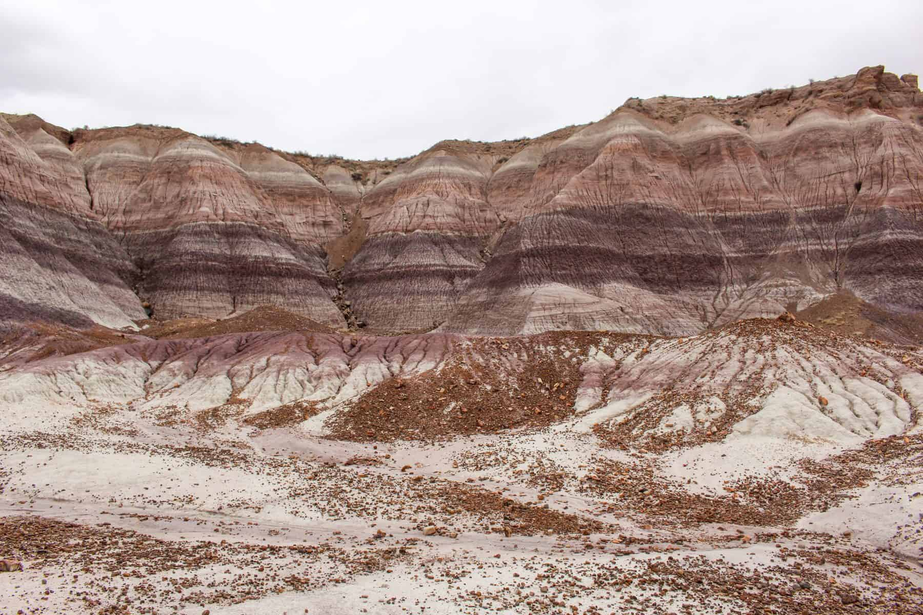 Blue Mesa in Petrified Forest NP