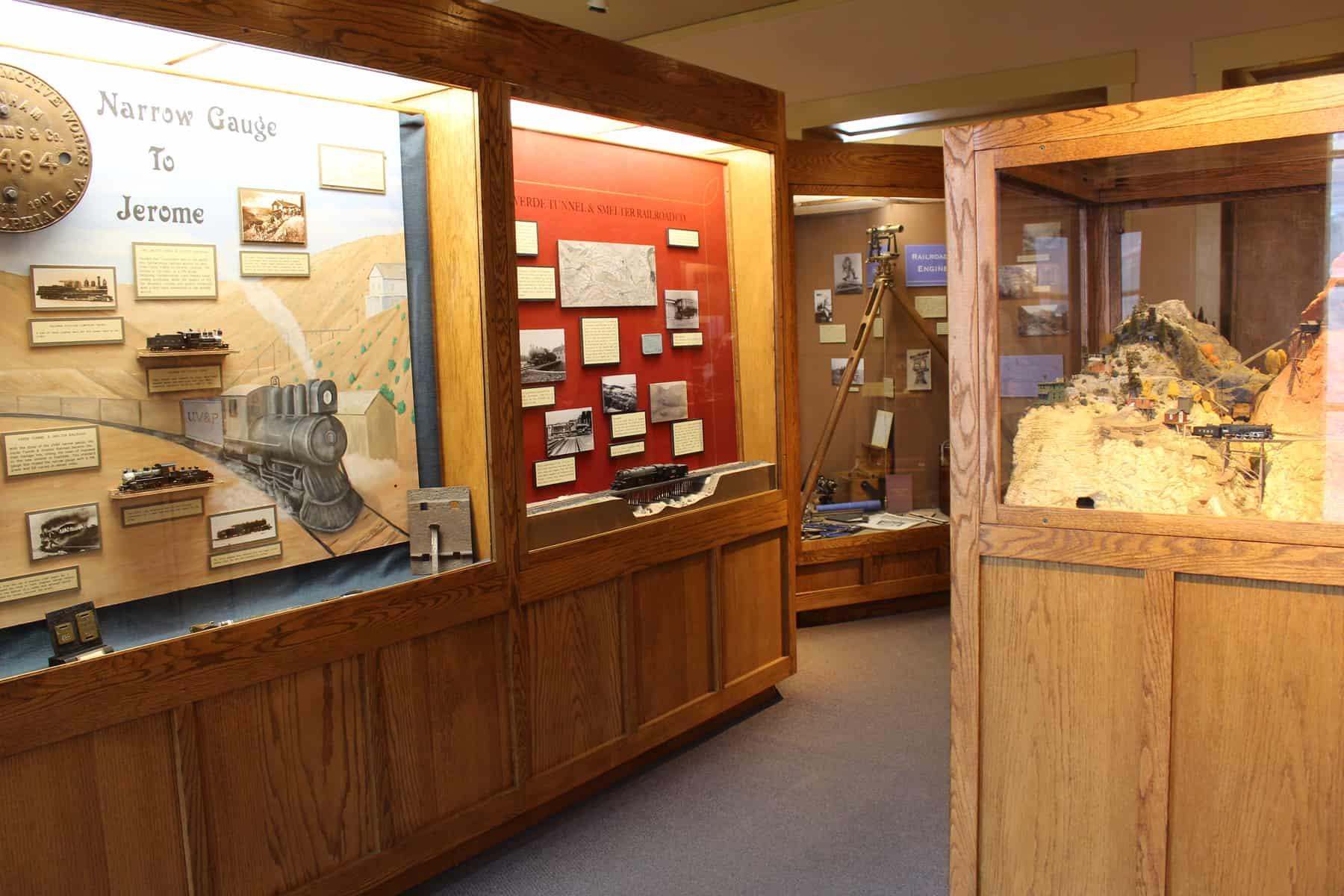 Jerome State Historic Park Exhibit