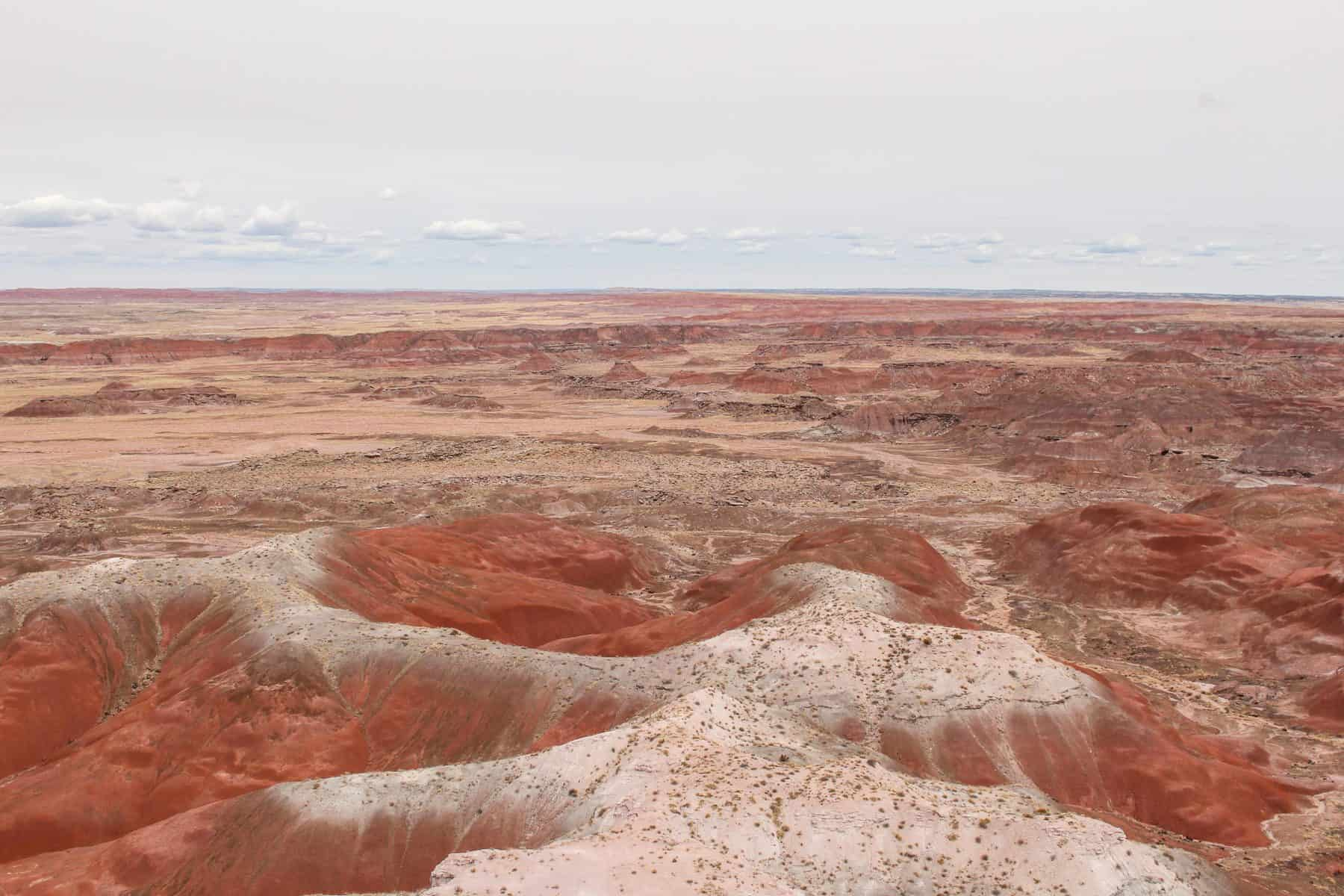 Painted Desert in Petrified Forest NP