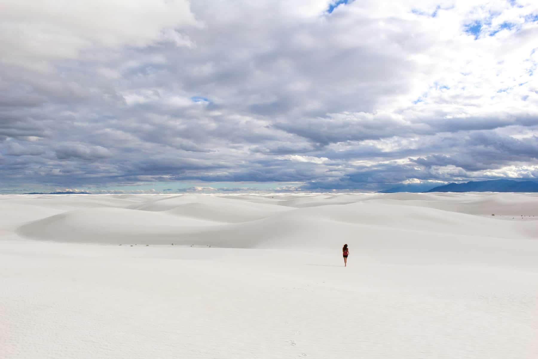 Run Around White Sands National Monument