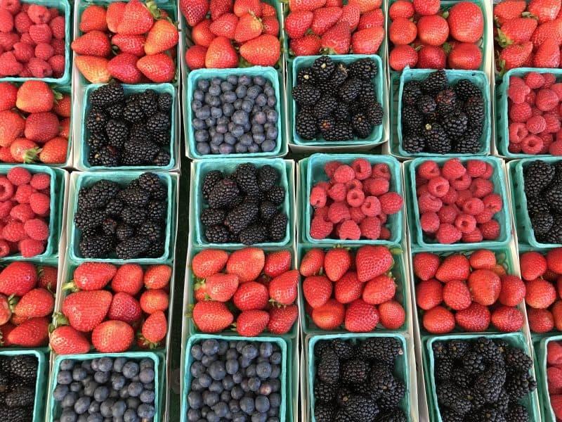 Temecula Farmers Market Berries