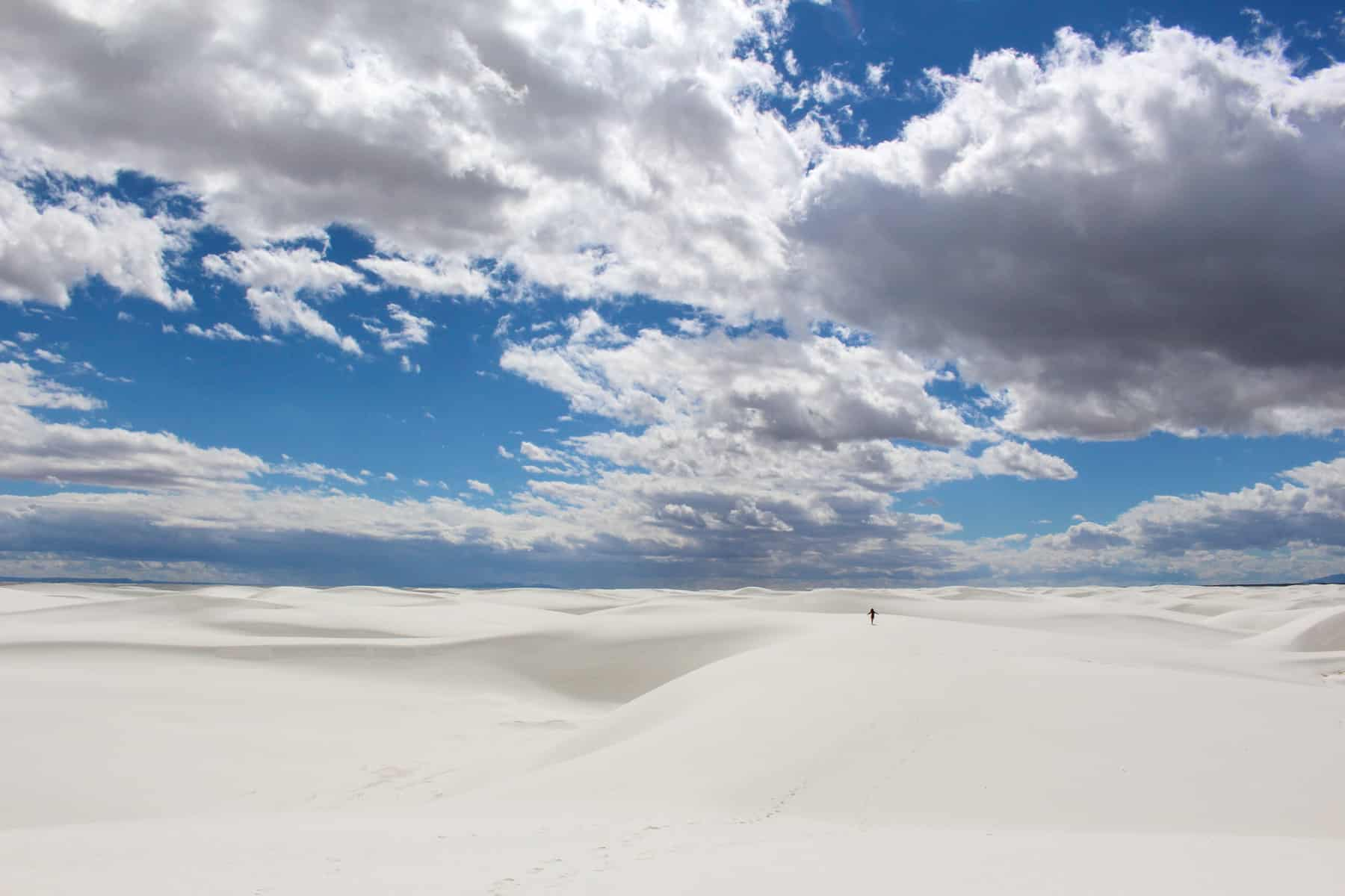 White Sands National Monument Hike