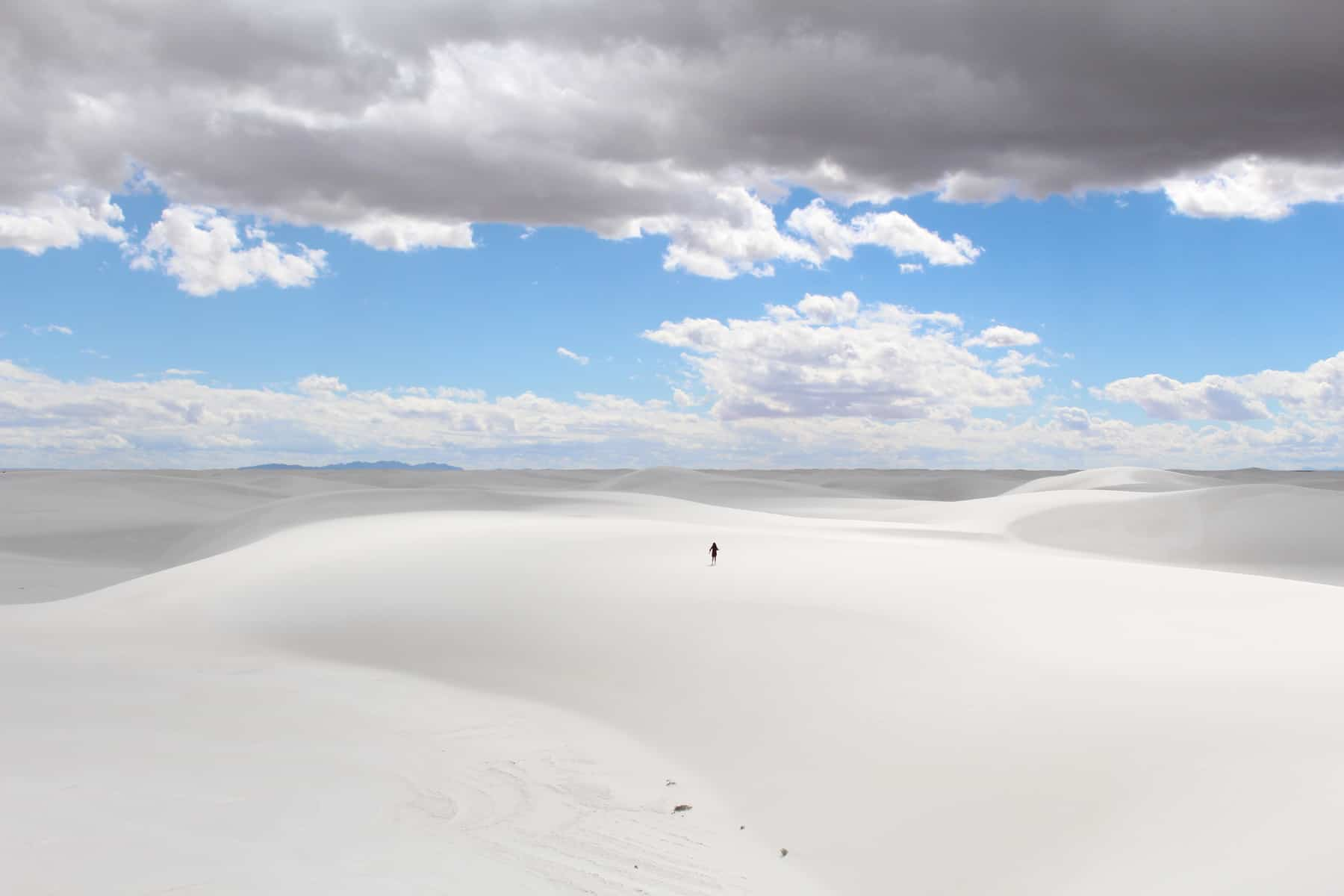 White Sands National Monument Incredible Sand Dunes