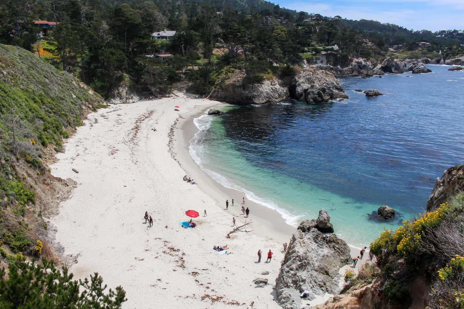 Gibson Beach at Point Lobos Natural Reserve