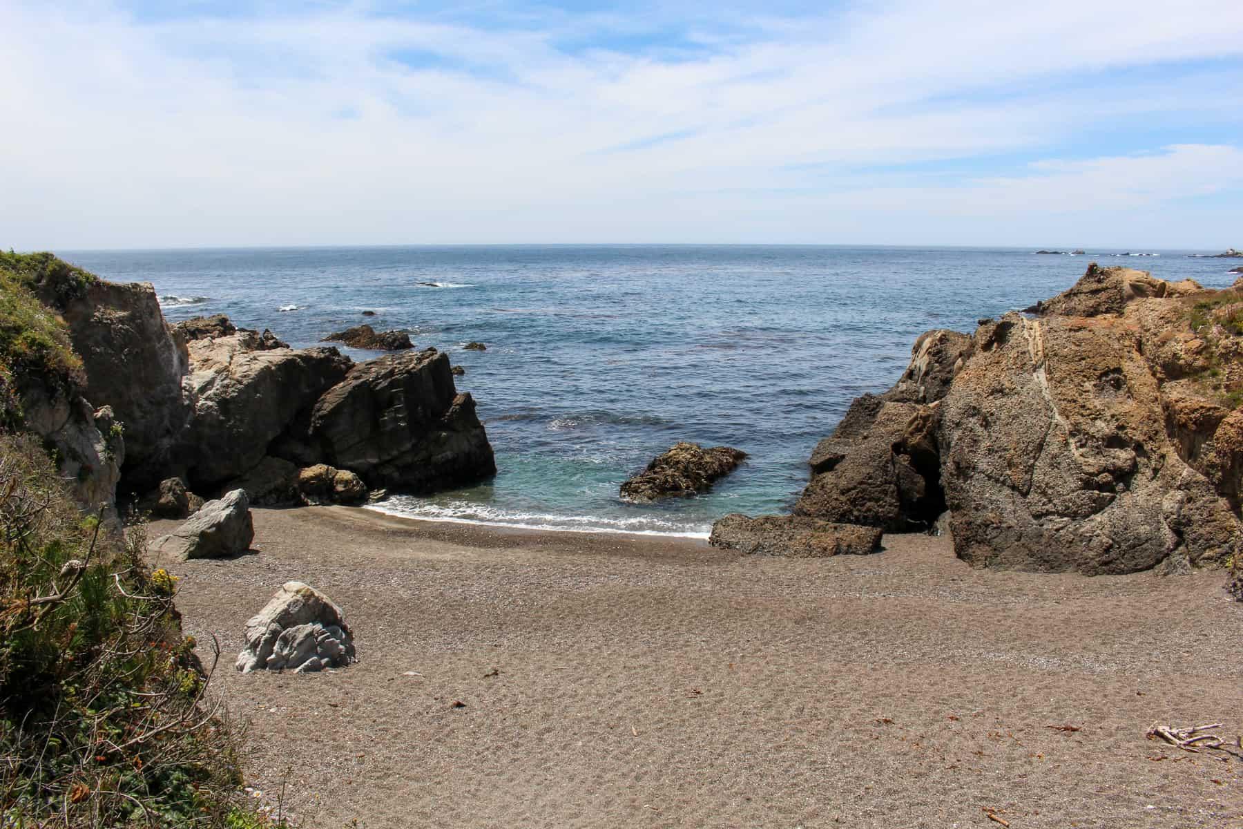 Hidden Beach in Point Lobos