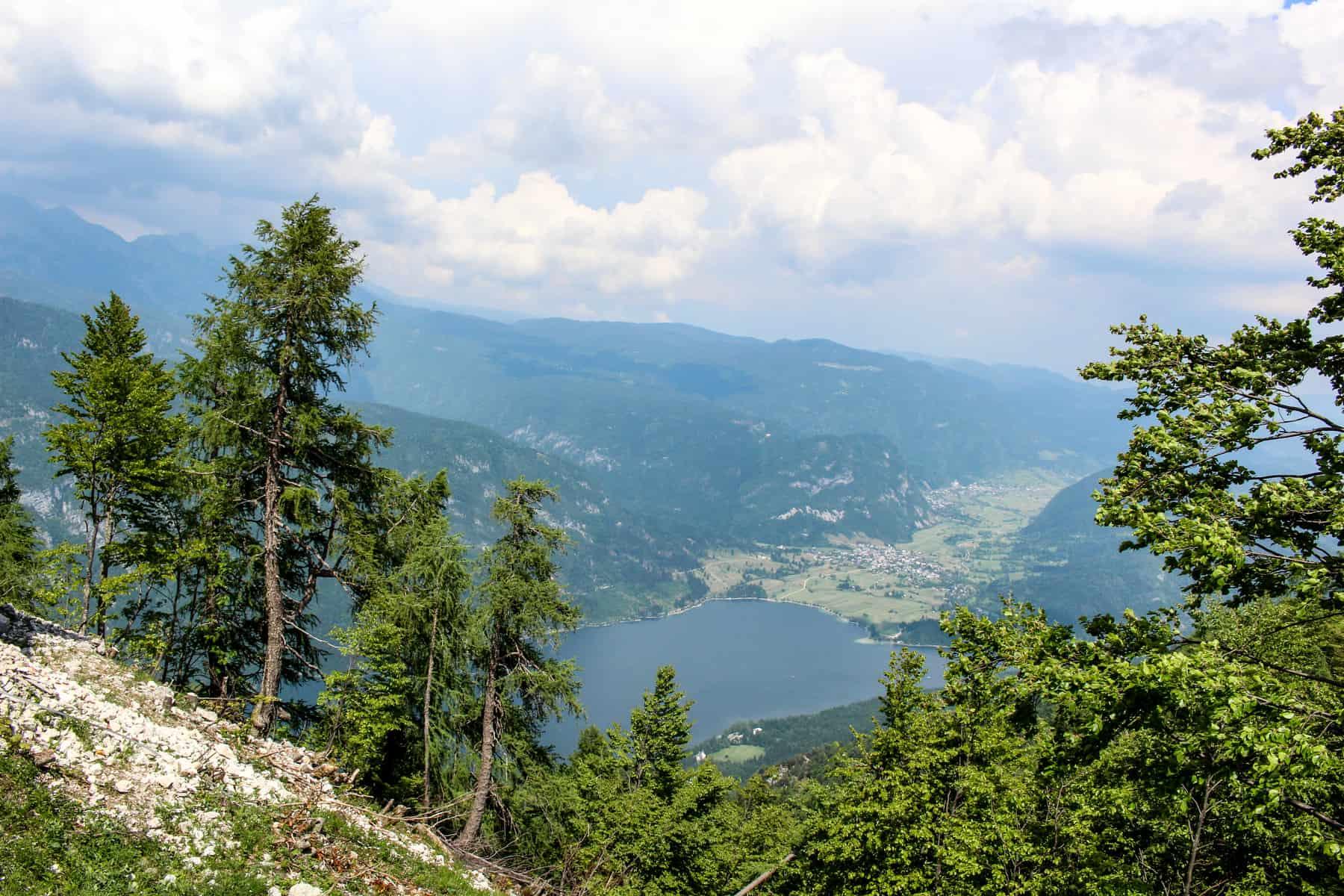 Lake Bohinj View From Vogel Mountain