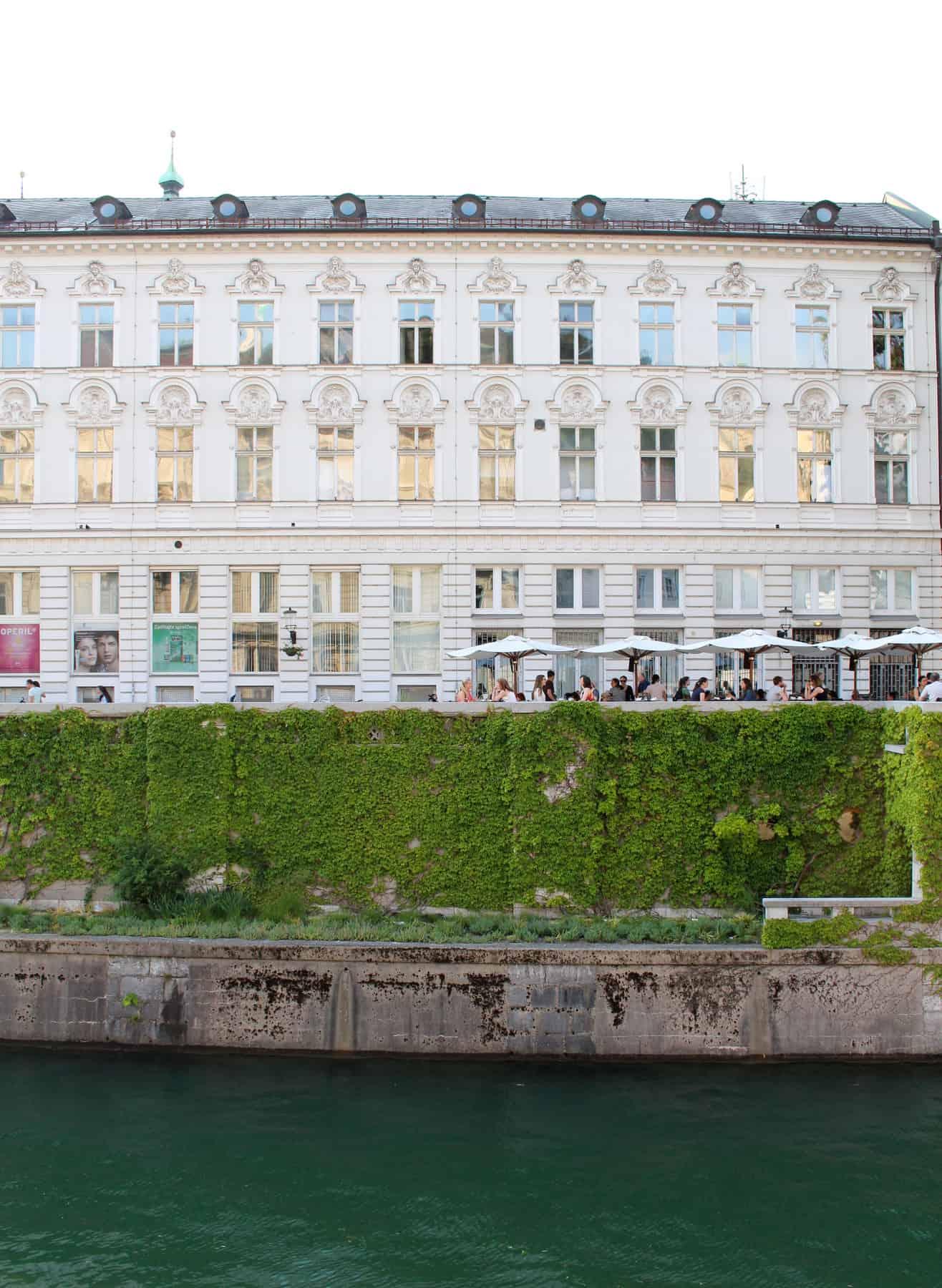 Ljubljana Slovenia Cafe