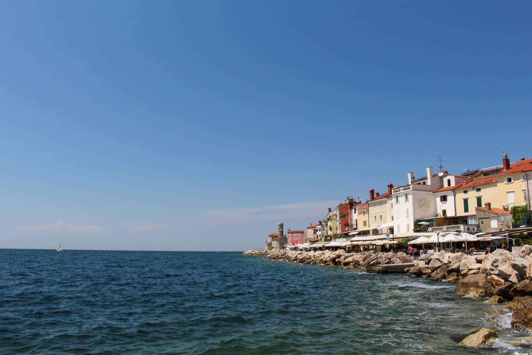 Piran Slovenia on Adriatic Sea