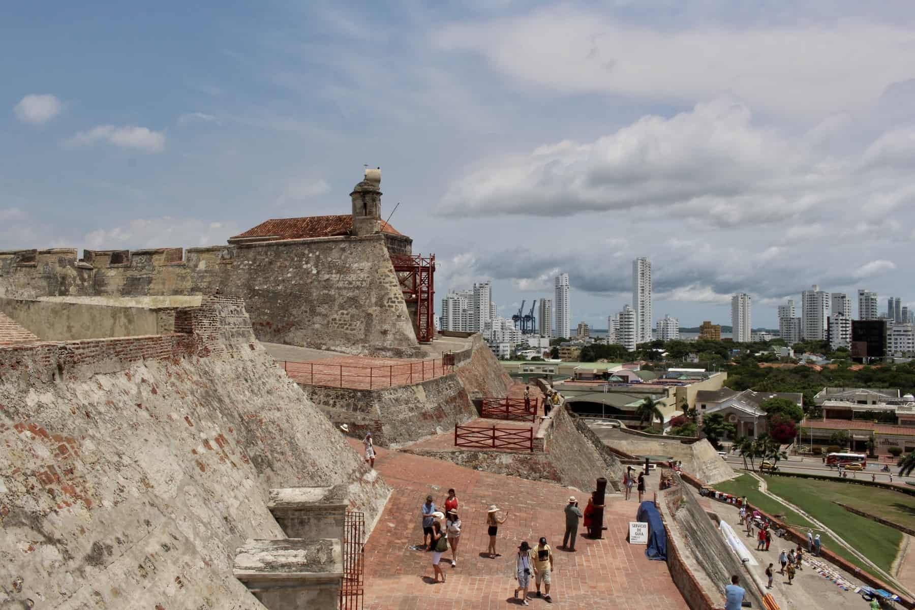 Castello De San Felipe Cartagena