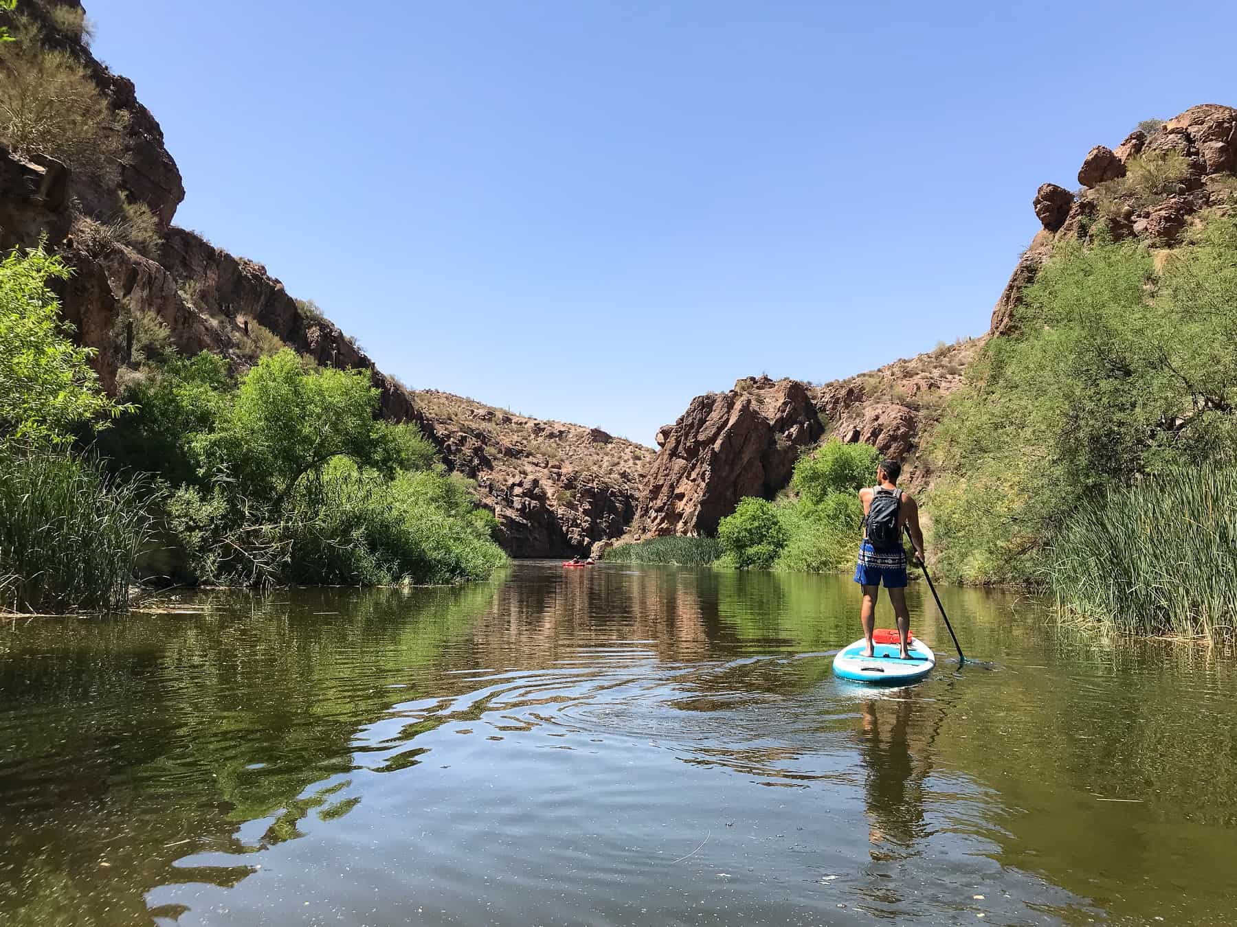 Canyon Lake Paddle Boarding