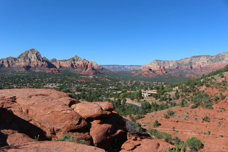 Airport Mesa Hiking Trail Views in Sedona