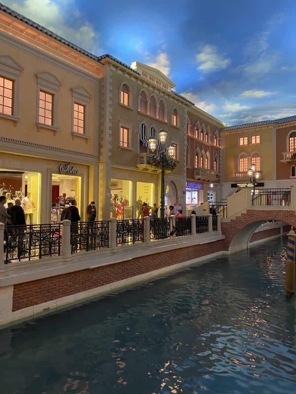 The Venetian Inside in Las Vegas