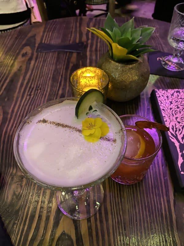 Cocktail at Vanderpump Cocktail Garden