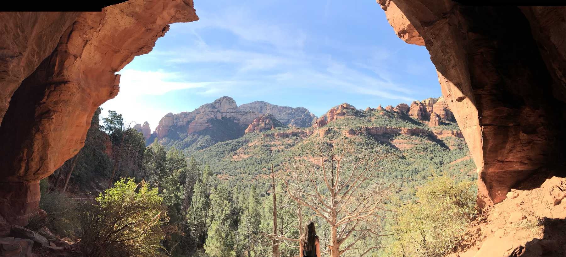 Sedona Cave on Soldier Pass Trail