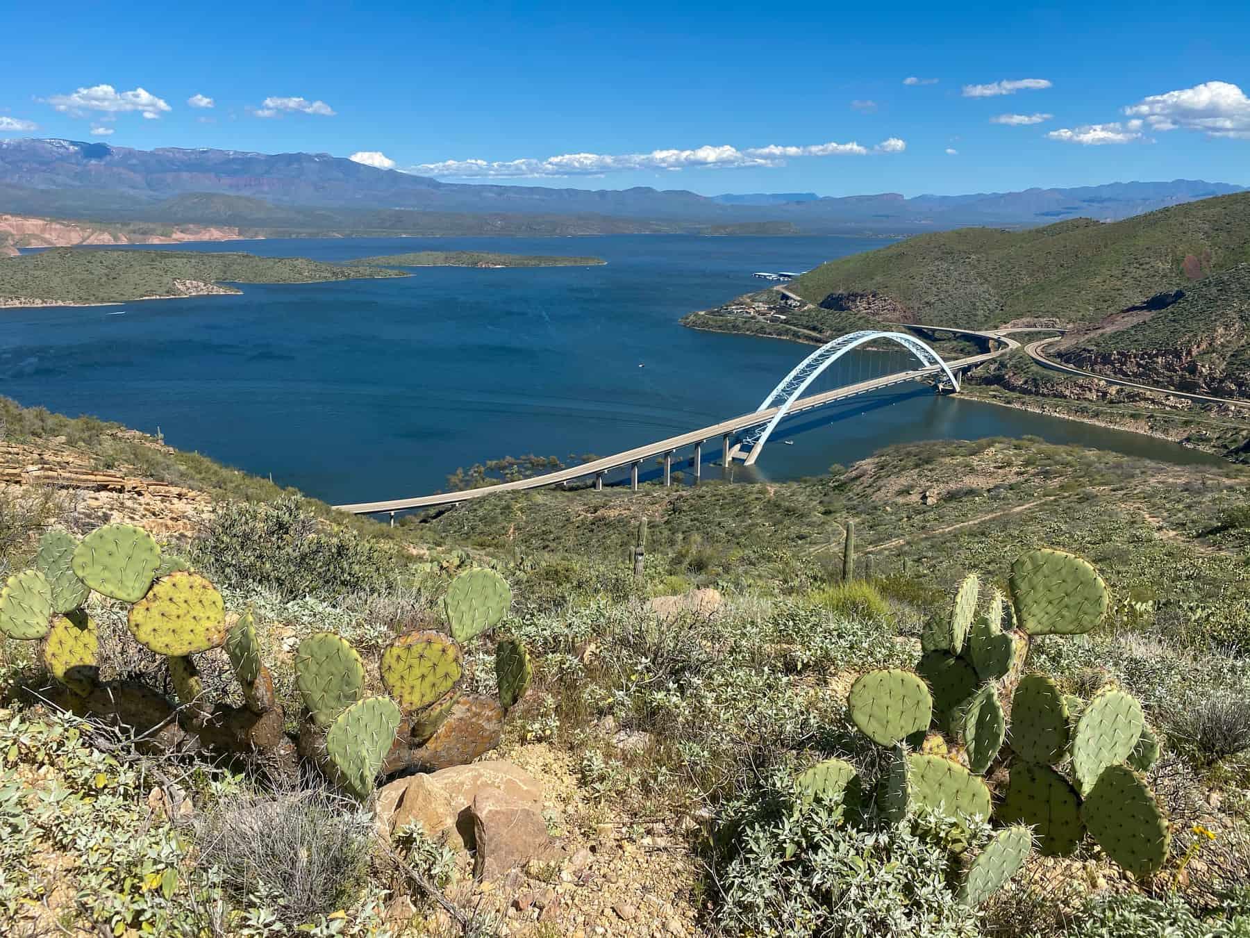 Roosevelt Lake Bridge Arizona