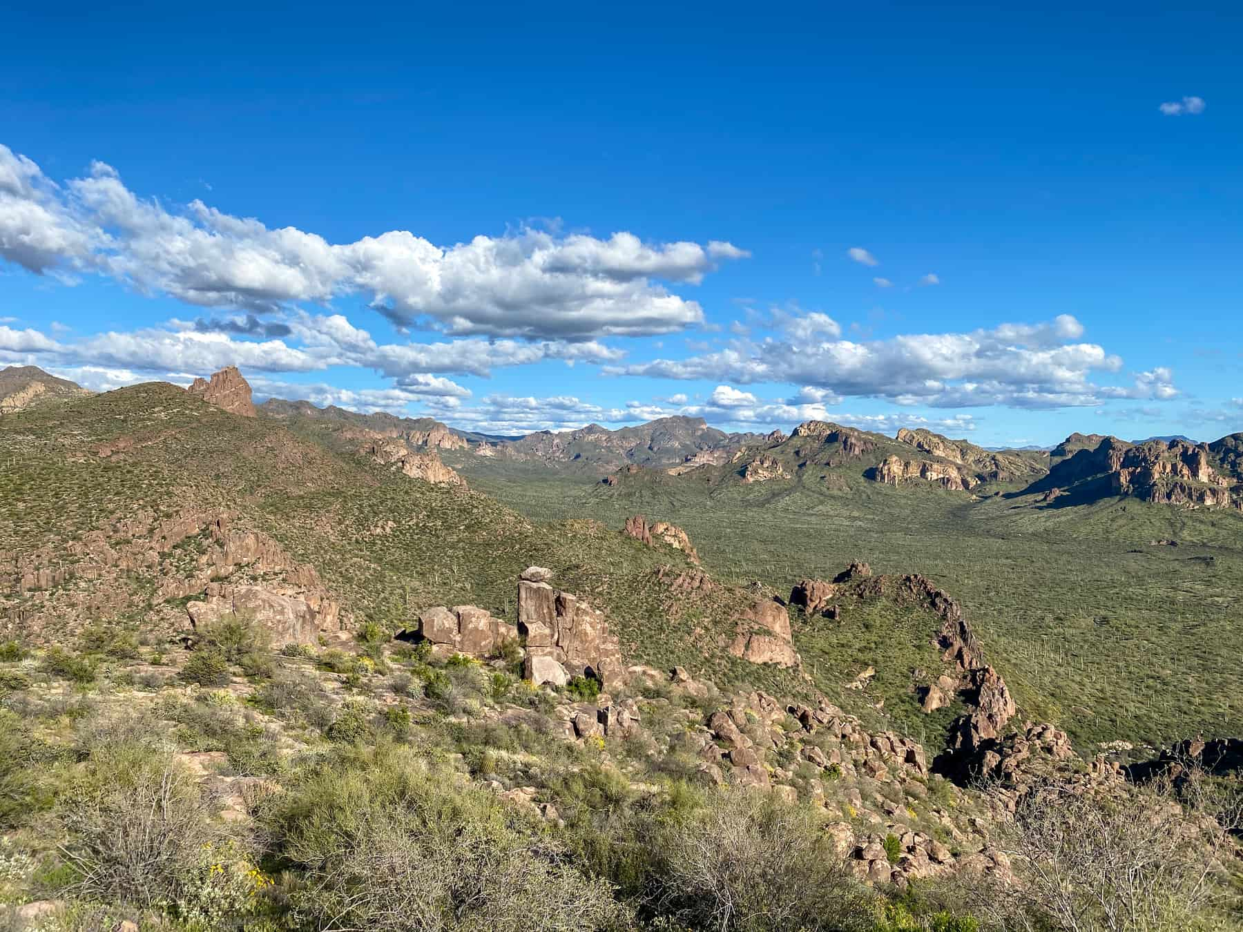 Bluff Springs Trail Superstitions