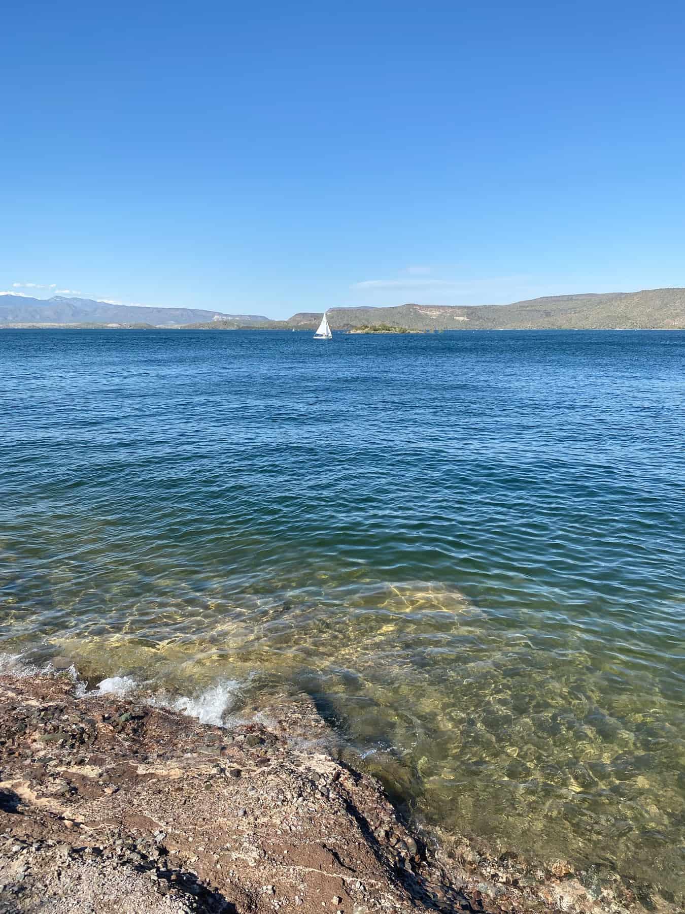 Swim at Lake Pleasant