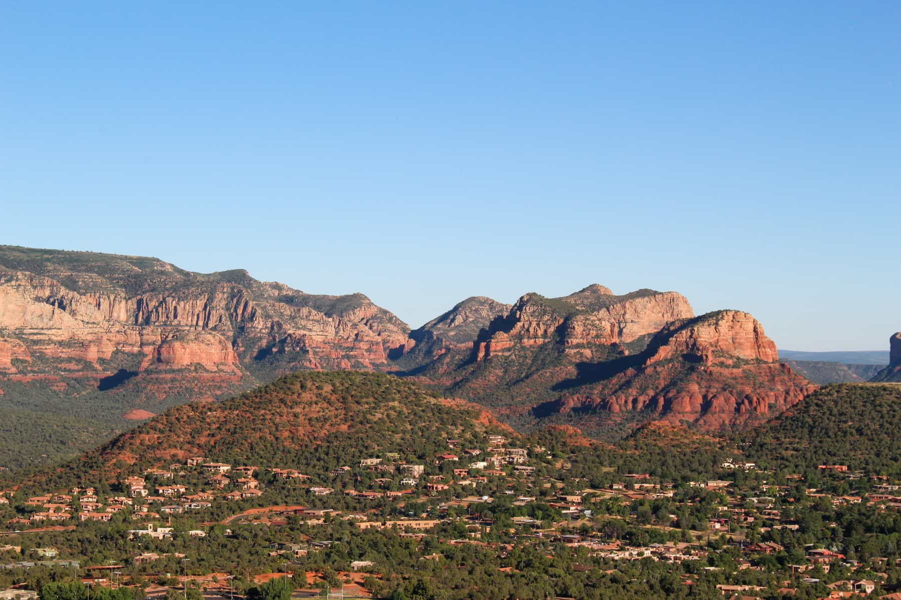 View from Sugarloaf Summit Sedona