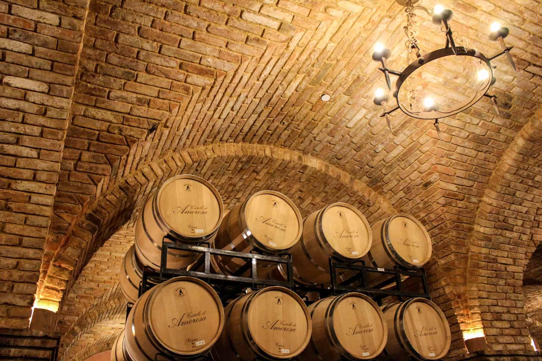 Castello Di Amorosa Wine Tour