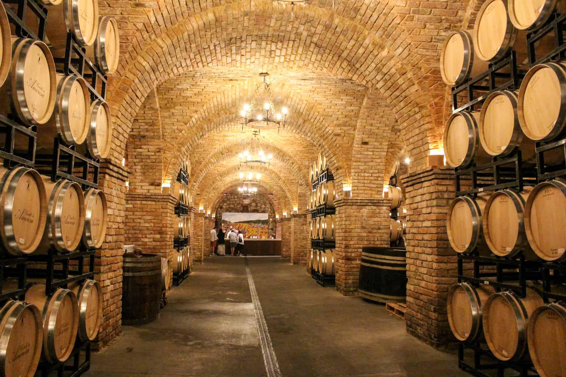 Inside Castle at Castello Di Amorosa