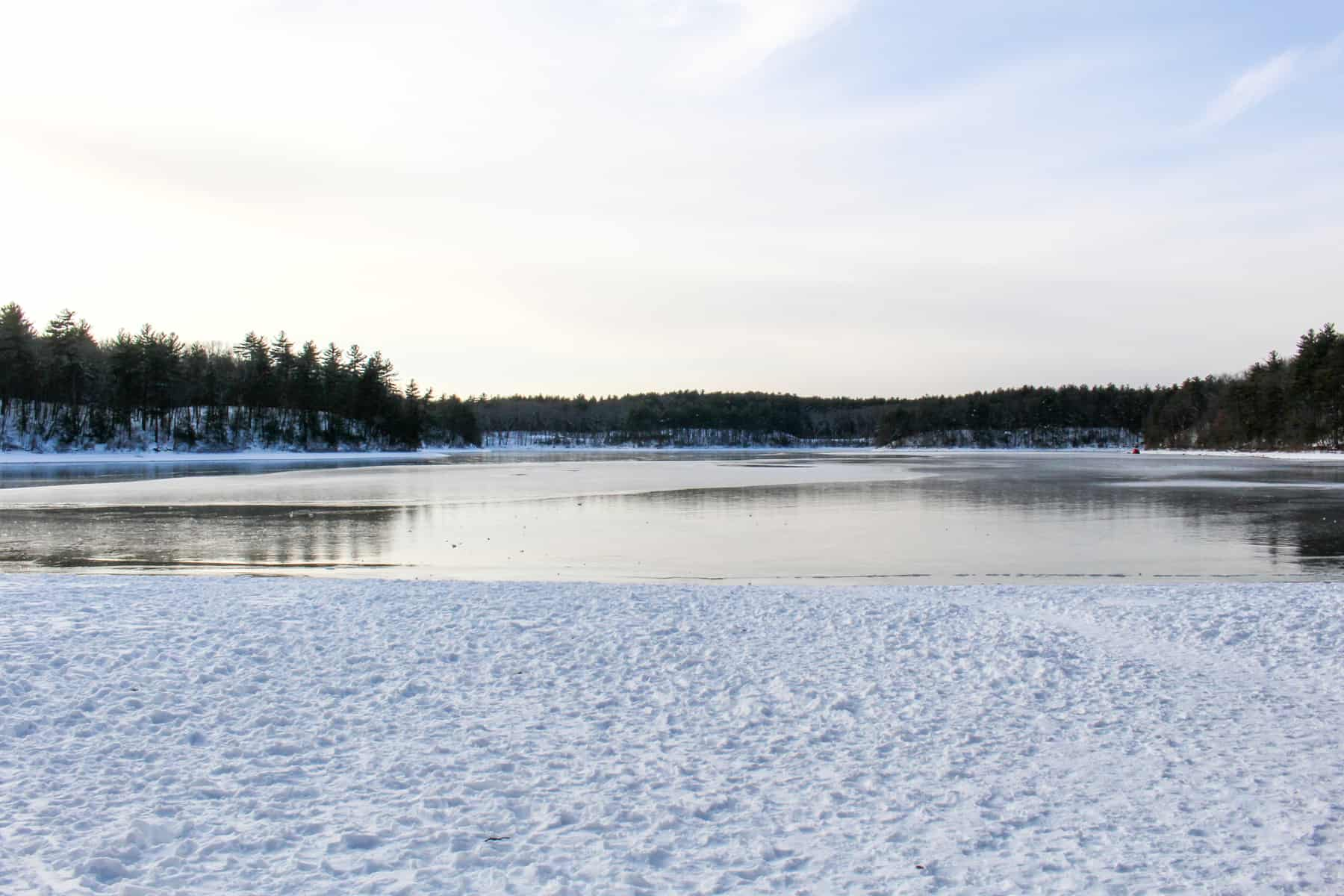 Walden Pond Winter