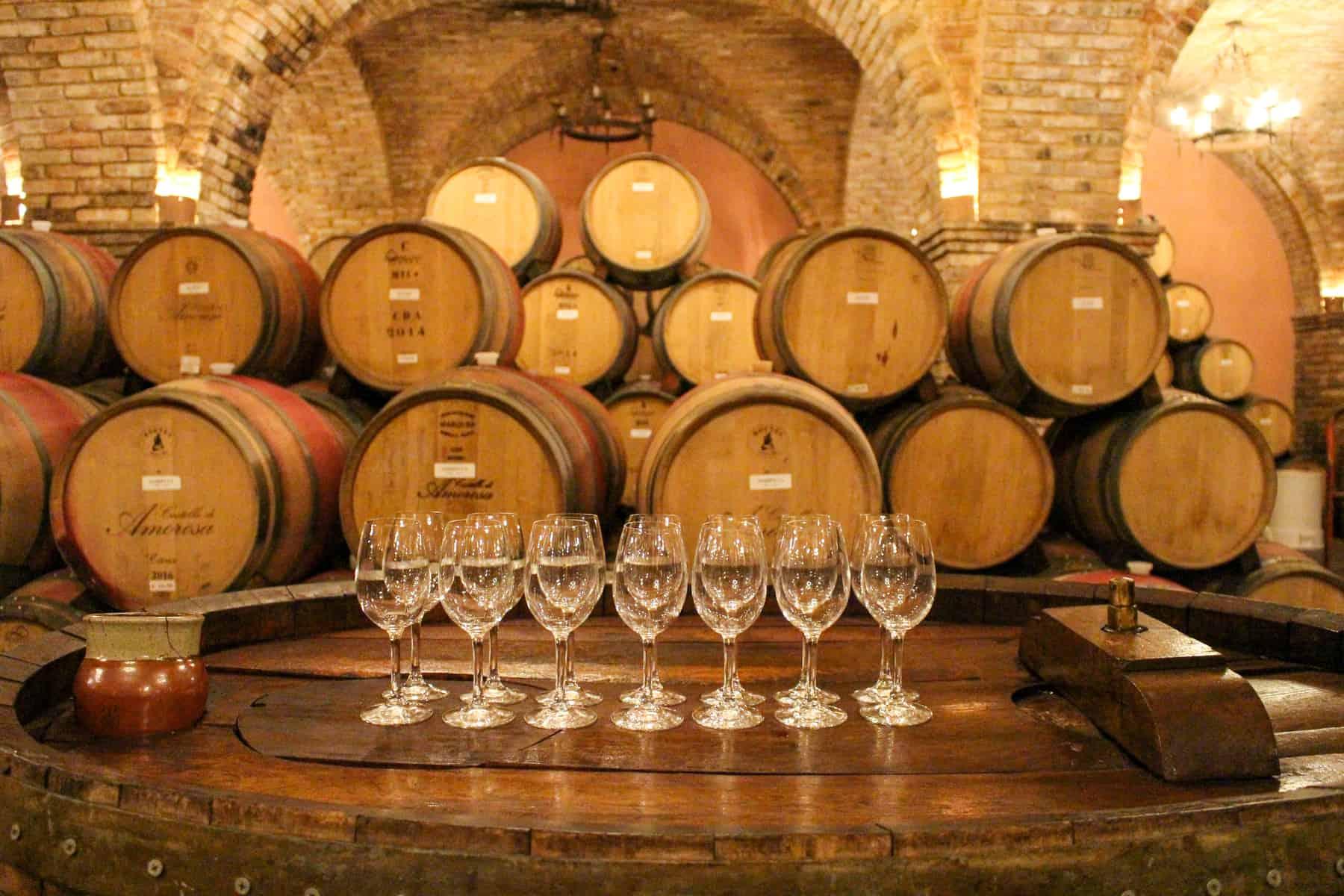 Wine Tasting at Castello Di Amorosa