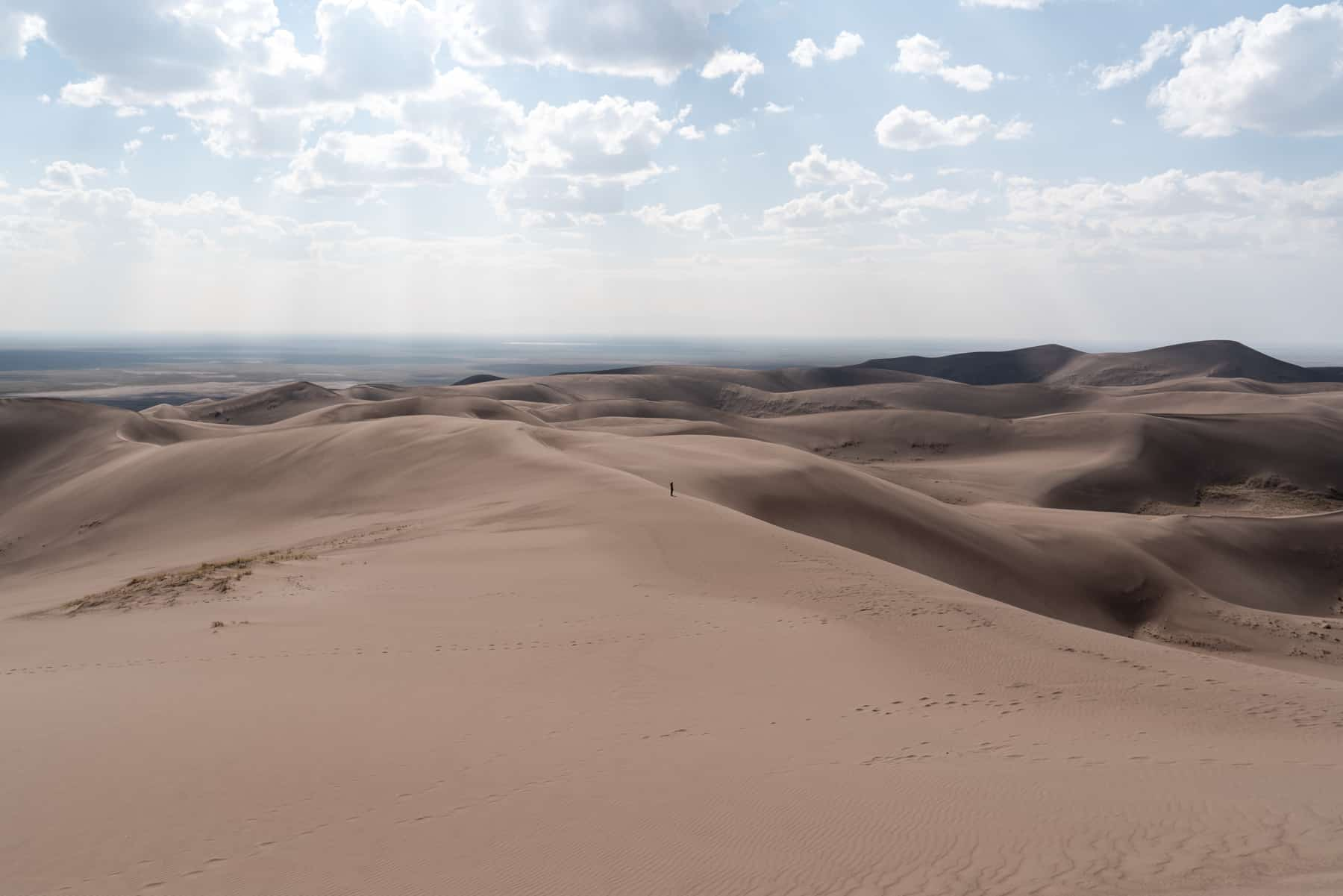 Hiking at Great Sand Dunes National Park