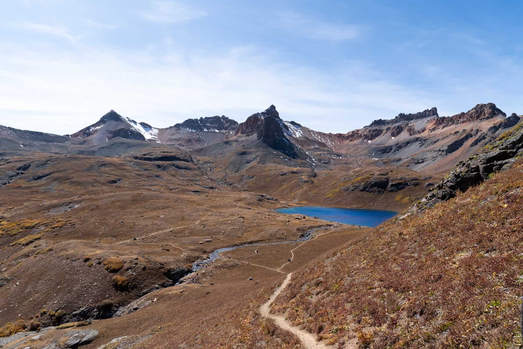 Ice Lake Trail Colorado